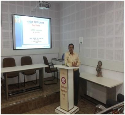 """Guest Lecture :  """"नागार्जुन द्वारा लिखित' कालिदास से 'कविता"""""""